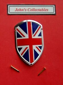GB UNION JACK WALKING / HIKING STICK BADGE / MOUNT  LOT M NEW IN PACKET