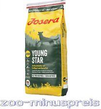 JOSERA YOUNG STAR Hundefutter 15 kg, Welpenfutter, Aufzuchtfutter mit Geflügel