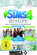 Die Sims 4 Bundle 4 Key Vampire Kinderzimmer Gartenspass Accessoiry EA Origin PC