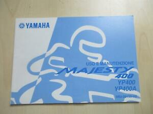 Yamaha Majesty YP 400 YP400A Handbuch Manutenzione Bedienungsanleitung 5RU-28199