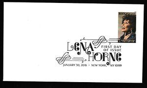 US 5259 Black Heritage Lena Horne BWP FDC 2018