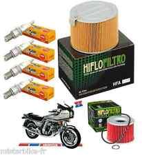 Pack Révision Filtre Huile Air Bougies Honda CBX 1000 Pro Link SC06 1981-1983