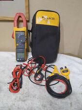 Fluke 381 clamp meter W/ iflex probe
