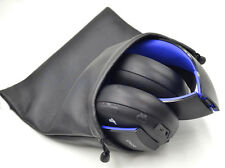 New PU Headphone pouch BAG for SONY gold Wireless PS3 PS4 7.1 Virtual headset