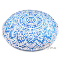 Round Pillow Case Floor Cover Cushion Bohemian Throw Case Pillow Cover For Decor