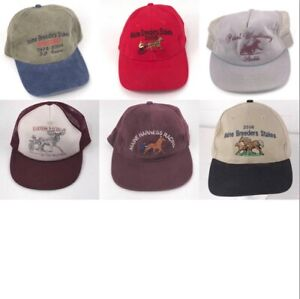 Vintage Harness Horse Racing hats and caps. Maine Breeders etc