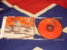 VIOLENCE, TERROR & DEPRAVITY  5 trk MAXI CD CRO-MAGS MORGOTH SENTENCED