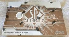 2008 SP Authentic BB HOBBY Box 3 Autograph (Letter Patch Jeter Griffey Chipper)?