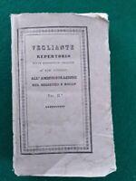 REGNO DI NAPOLI-REPERTORIO VEGLIANTE DI LEGGI AMMINISTRATIVE-COSENZA 1838.II VOL