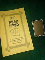 George Blake British Ring DREAM POKER Gambling Routine Classic