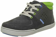 Crocs Dashiell Leather Chukka Boot Boys Sneaker Hi-top Trainers UK 3-4/US J4