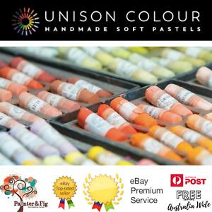 Unison Soft Pastels - Hand Rolled - Half/Full Sets, 12, 16, 18, 30, 63, 72, 120
