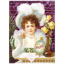 Drink Cola 5 Cents Ad Poster Deco Magnet, Decorative Fridge Magnet Mini Gift