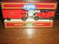 CORGI CAMEO - THE ROYAL MAIL COLLECTION - 1991 - A.E.C. VAN & MODEL T FORD VAN