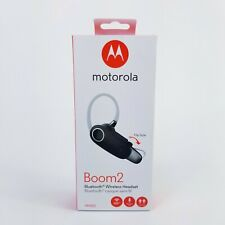 Motorola Boom 2 Wireless Bluetooth Headset MH003 Dual-Mic Noise Cancellation