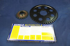 TRIUMPH T140 / TR7 CHAIN AND SPROCKET KIT DISC REAR WHEEL MODELS 47 / 20 TEETH