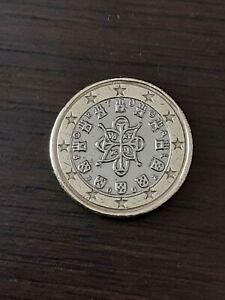 1 euro PORTUGAL 2002 fauté