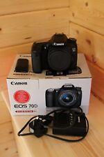 Canon EOS 70D Reflex Numérique - (Boîtier seulement) - panne intermittente