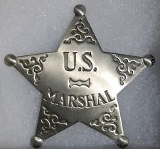 US Marshal Sheriff Antique Western Replica Lawman Badge Police Deputy PH021