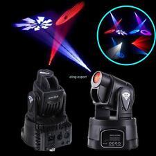 2x Mini Moving Head Club DJ Stage Light DMX 15W LED RGB Moving Licht 13CH Xmas