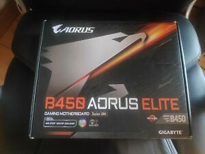 (READ DESC!!)  GIGABYTE B450 AORUS ELITE ATX gaming motherboard