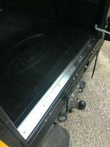 Stainless Steel Rear Door Carpet Retainer Trim - Fits Land Rover Defender 90/110