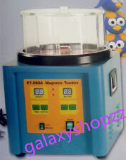 KT-280A Magnetic Tumbler Jewelry Finisher Polisher Finishing Machine Timer