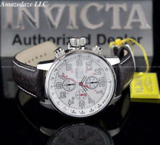 Invicta Men I Force Lefty  VD57 Chronograph Alligator Strap Superluminova Watch