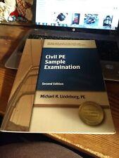 Civil Pe Sample Examination - Michael Lindeburg Second Edition BN23