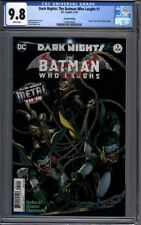 Dark Nights: The Batman Who Laughs #1  Origin Issue Sold Out 2nd Print CGC 9.8