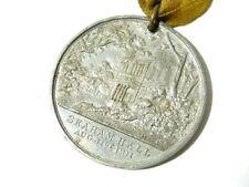 RARE Médaille commémorative Seaham Hall maire de Durham 1911 #G20