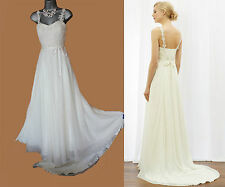 453f8dc1a274e MONSOON Ivory Olivia Classic Romantic Bridal Wedding Maxi Dress UK 10 38  £299