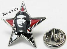 Star Che Guevara El Che Marxist Lapel Pin Badge Cuban Revolution Socialist