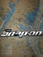 "Snap-On Tool Box Logo Emblem, 8"" Long, Band New"