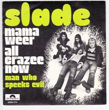 SP 45 TOURS SLADE MAMA WEER ALL CRAZEE NOW POLYDOR 2058274