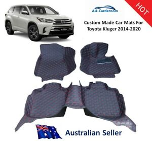 Toyota Kluger 2014-2020 Full Surrounded Custom Tailored Car Floor Mats/Carpets
