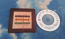 "SIMPLE MINDS Ballad Of The Streets (Belfast Child)UK 3"" CD SINGLE*NEAR MINT CD**"