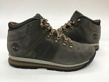 Timberland GT Rally Mid Hiking Boot Olive Suede WaterproofMens Sample Size 9