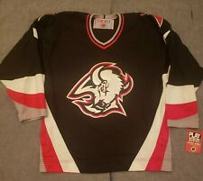 Buffalo Sabres Goat's Head Black CCM Jersey NWT Dead-stock