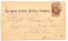 AH140 Great Britain Stationery 1880 *Great Eastern Railway* Liverpool St Station