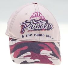 Buck Wear Womens Pink Camouflage Hunting Princess Hat Cap Adj Strapback