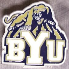 NCAA Pewter Belt Buckle Brigham Young University Cougars NEW