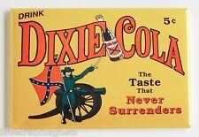 Dixie Cola FRIDGE MAGNET (2 x 3 inches) soda sign civil war