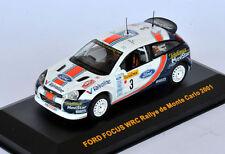 IXO Ford Focus WRC Rally Monte Carlo 2001 C. Sainz - L. Moya CIXJ000042 1/43