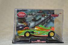 "Disney Pixar Cars DIE CAST  "" RIP  CLUTCHGONESKI  (Metallic) "" 1:43 scale  NIB"