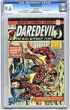 Daredevil  #120   CGC   9.6   NM+   White pages   4/75   Nick Fury App.