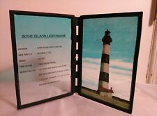 "Sun Catcher, Lighthouse, Bodie Island Nc, 8"" Hand Painted"