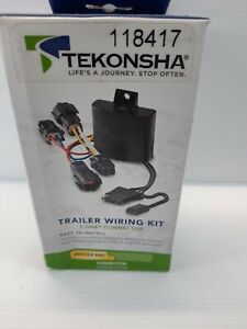 Tekonsha 118417 T-One 4-Way T-Connector Trailer Hitch Wiring for Chevy Impala