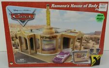 RAMONES HOUSE OF BODY ART PLAYSET LIGHT UP SIGN CARS DISNEY PIXAR MOVIE NOS