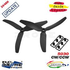 Hélices 5030 Update HUBSAN F210 H250 H280 QAV250 Racer250 TL250H 260 280 300 RC